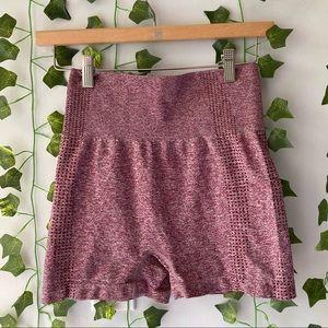 Women's Seamless Highwaisted Shorts